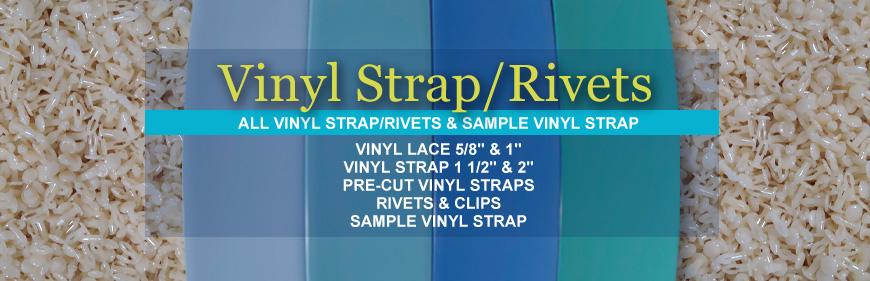 Vinyl Strap/Rivets